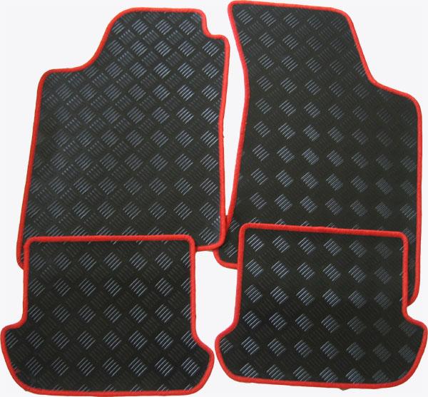 f r seat ateca ab gummi fu matten mit einfassung. Black Bedroom Furniture Sets. Home Design Ideas